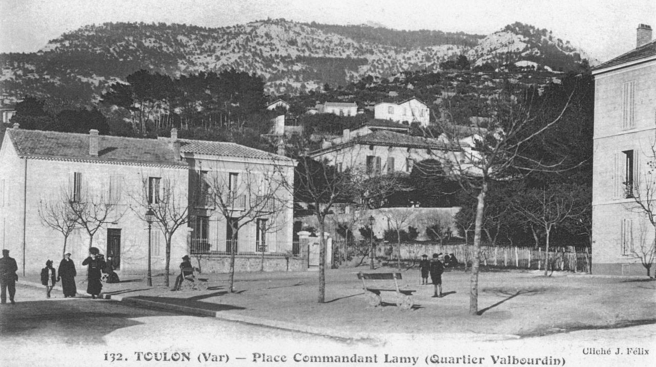 Place Commandant Lamy avant 1914