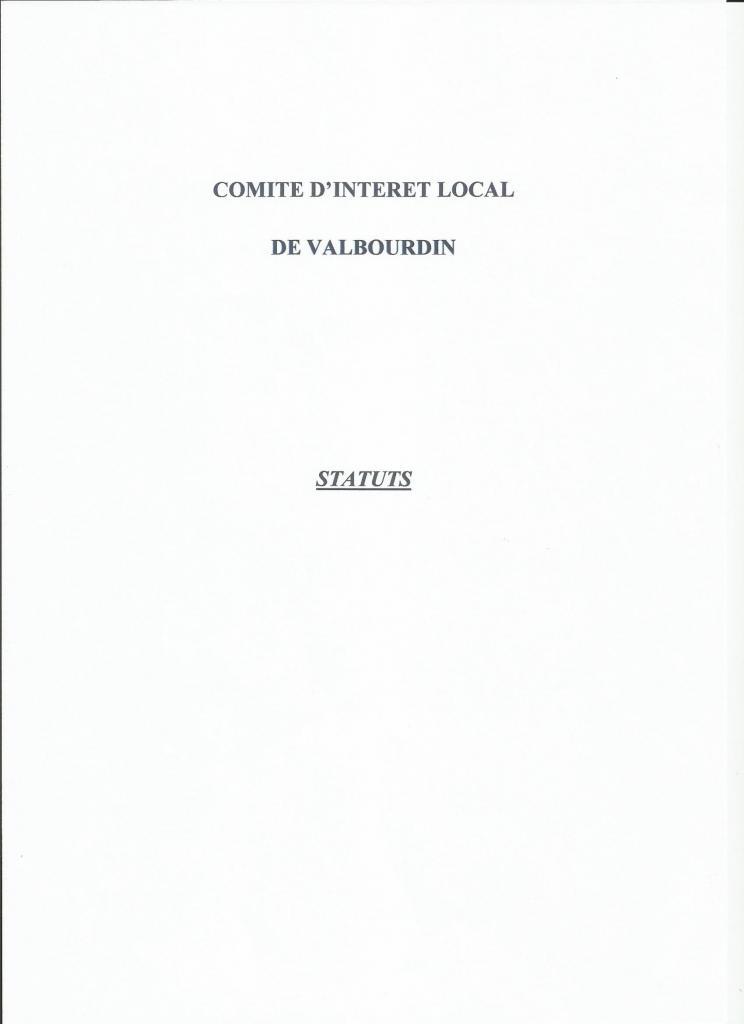 Statuts couverture